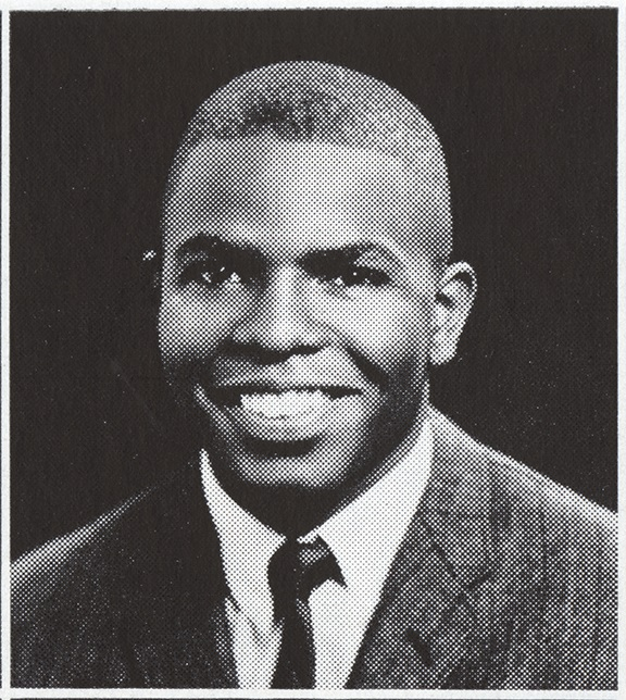 Kellis Parker, senior year portrait, 1964.  From the UNC-Chapel Hill student yearbook the <i>Yackety Yack</i>.  Used by permission of University of North Carolina Libraries.