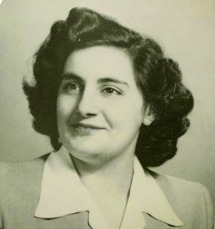 Photograph of Sister Mary Michel Boulus from the 1947 edition of Pine Needles. Image courtesy of UNCG University Library and NCDHC.