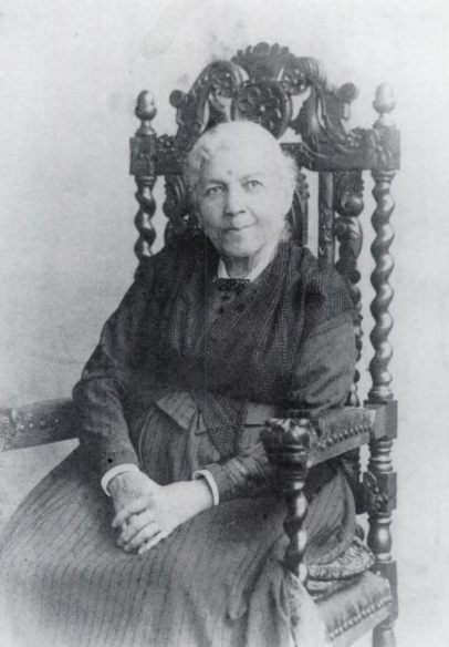 Photograph of Harriet Jacobs taken in 1894.