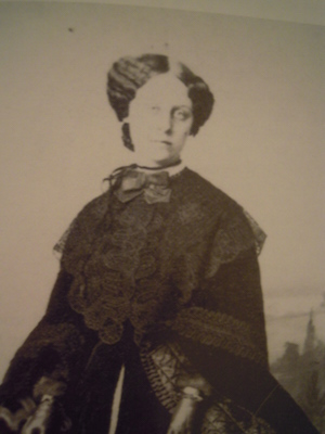Portrait of Louisa Matilda Jacobs, author, educator, and abolitionist.