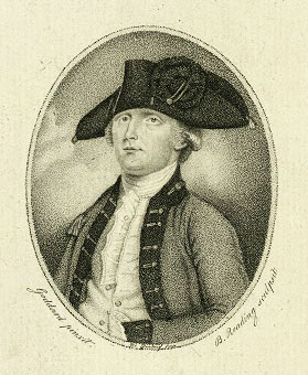 18th century illustration of Edmund Fanning. This illustration shows Fanning after he left North Carolina and relocated to Nova Scotia. From the collections of the New York Public Library.