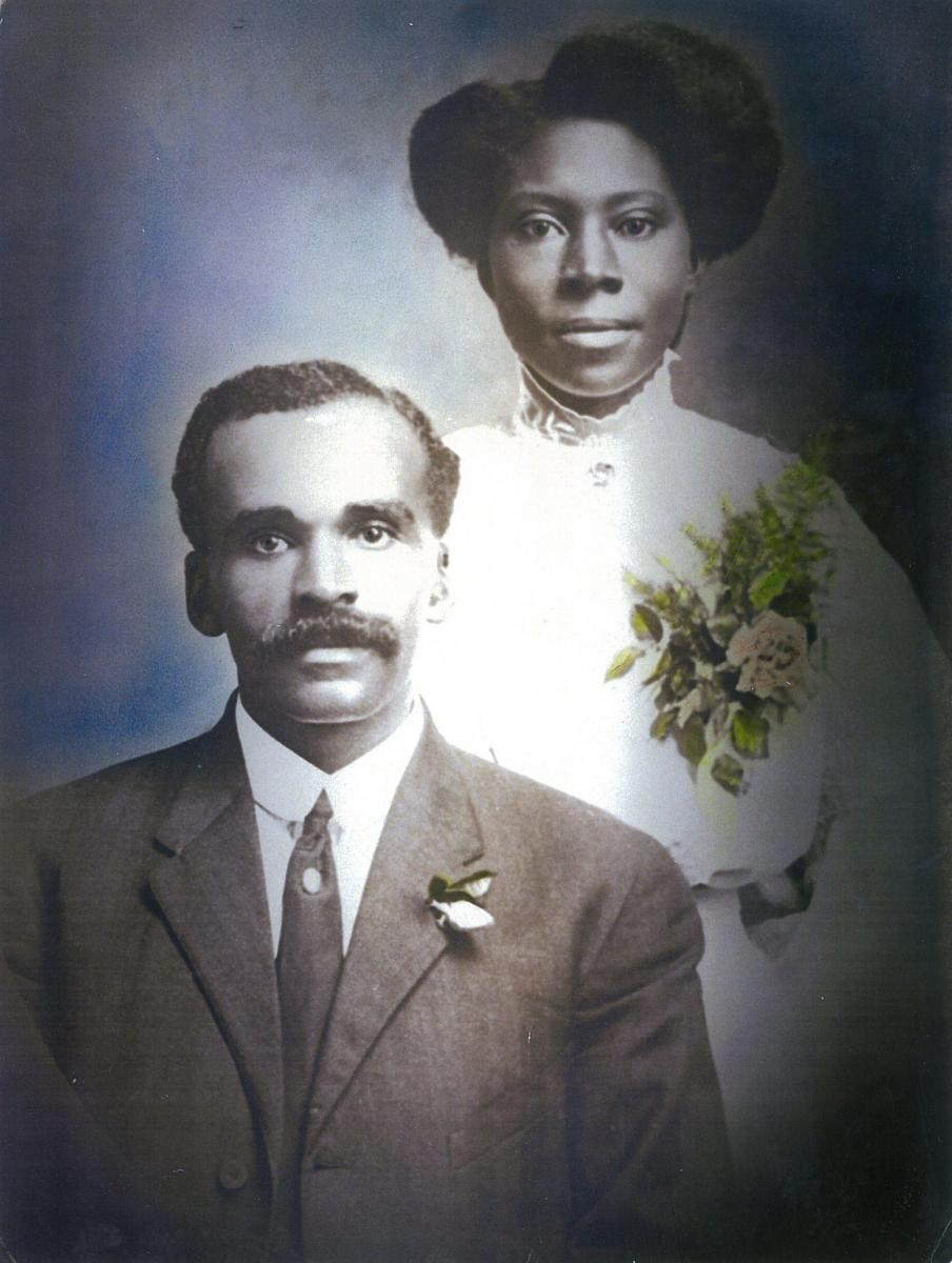 John Wray and wife Annie Bell Harris were married in 1909. Photo courtesy of North Carolina A&T University Archives and Special Collections.