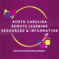 Image of the logo from the NCDPI Remote Learning Resources page.