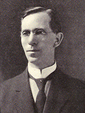 A photograph of James Jefferson Britt published in 1911. Image from the Internet Archive.