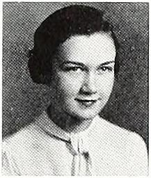 "Yearbook photo of Grace Collins [Boddie] taken during her freshman year at State Teacher's College in Farmville, V.A. From the 1934 ""Virginian"",  Longwood University Digital Commons."