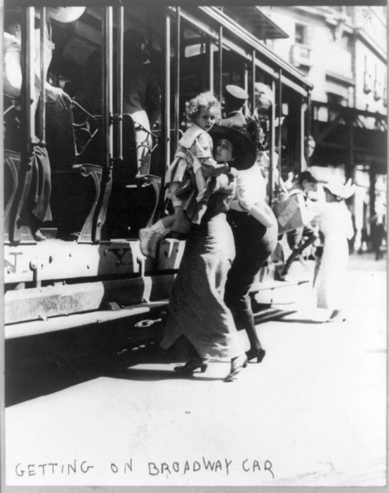 """<img typeof=""""foaf:Image"""" src=""""http://statelibrarync.org/learnnc/sites/default/files/images/3b37871u.jpg"""" width=""""1212"""" height=""""1536"""" alt=""""Getting on the Broadway car"""" title=""""Getting on the Broadway car"""" />"""