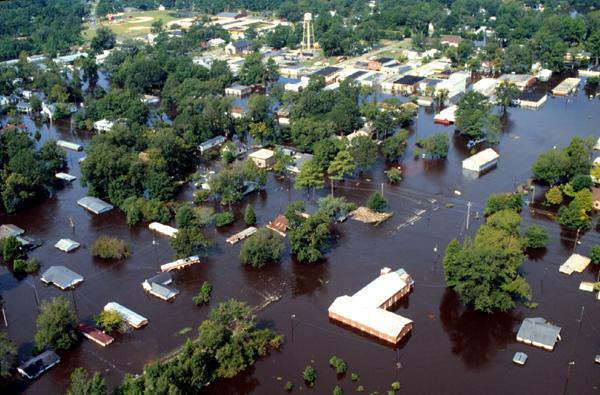 Flooding after Hurricane Floyd