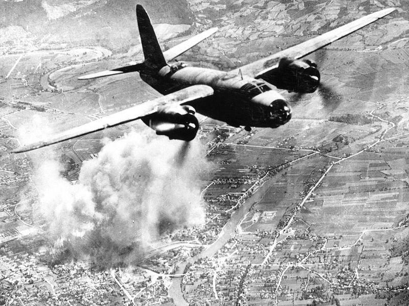 B-26 bomber