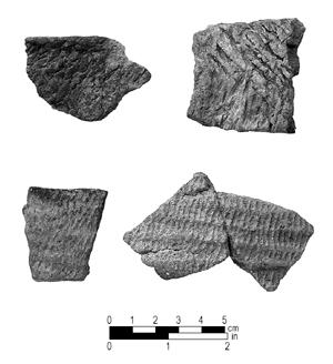 "<img typeof=""foaf:Image"" src=""http://statelibrarync.org/learnnc/sites/default/files/images/Badin.jpg"" width=""300"" height=""328"" alt=""Badin pottery fragments"" title=""Badin pottery fragments"" />"