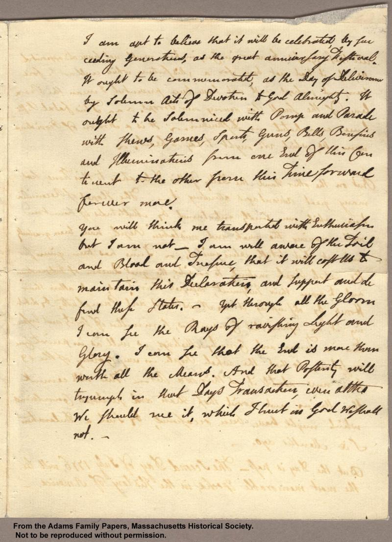 """<img typeof=""""foaf:Image"""" src=""""http://statelibrarync.org/learnnc/sites/default/files/images/adams_had_declaration_p3.jpg"""" width=""""1287"""" height=""""1780"""" alt=""""Letter from John Adams to Abigail Adams, 3 July 1776 - Had a declaration..."""" title=""""Letter from John Adams to Abigail Adams, 3 July 1776 - Had a declaration..."""" />"""