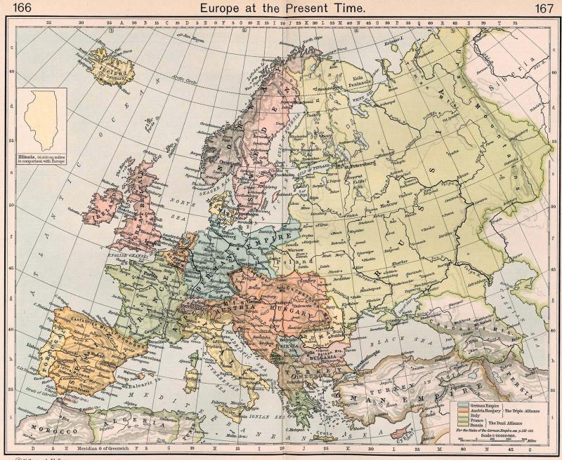 Europe in 1911