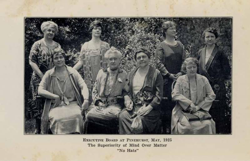 North Carolina Federation of Women's Club Executive Board