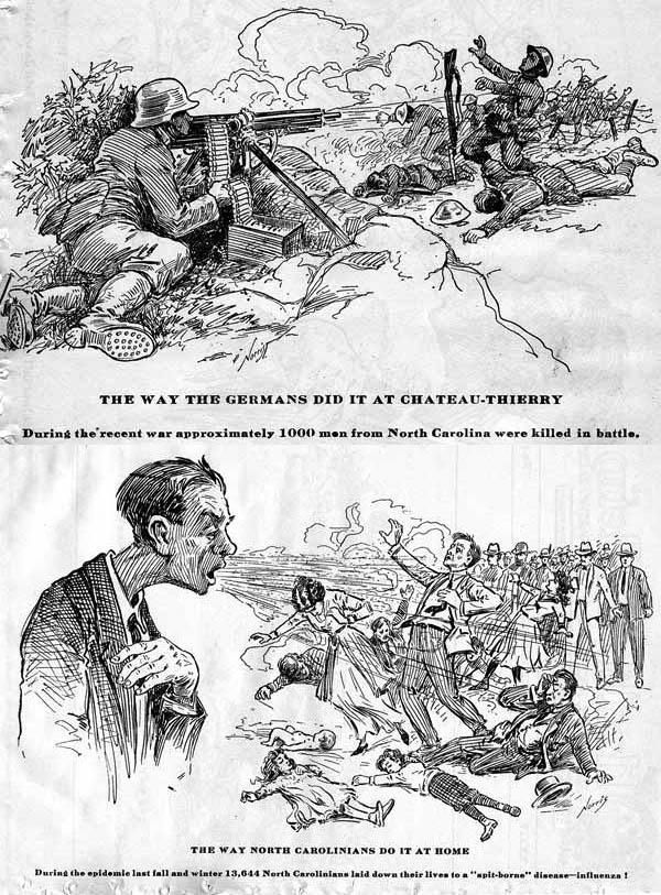 The way Germans did it / The way North Carolinians do it