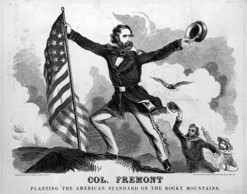 """<img typeof=""""foaf:Image"""" src=""""http://statelibrarync.org/learnnc/sites/default/files/images/fremont56.jpg"""" width=""""1024"""" height=""""804"""" alt=""""Col. Fremont planting the American standard on the Rocky Mountains"""" title=""""Col. Fremont planting the American standard on the Rocky Mountains"""" />"""