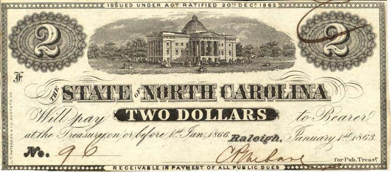 "<img typeof=""foaf:Image"" src=""http://statelibrarync.org/learnnc/sites/default/files/images/nc1863-2_at_150.jpg"" width=""937"" height=""412"" alt=""North Carolina two-dollar note, 1863"" title=""North Carolina two-dollar note, 1863"" />"
