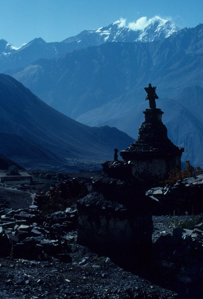 """<img typeof=""""foaf:Image"""" src=""""http://statelibrarync.org/learnnc/sites/default/files/images/nepal_199.jpg"""" width=""""694"""" height=""""1024"""" alt=""""Chortens in the Muktinath temple area"""" title=""""Chortens in the Muktinath temple area"""" />"""