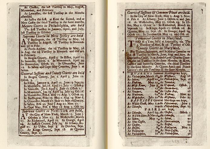 Poor Richard's Almanack, 1733