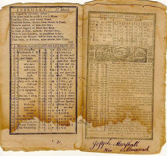 "<img typeof=""foaf:Image"" src=""http://statelibrarync.org/learnnc/sites/default/files/images/poor_richard_1759_feb.jpg"" width=""583"" height=""545"" alt=""Poor Richard's Amanack, February 1759 "" title=""Poor Richard's Amanack, February 1759 "" />"