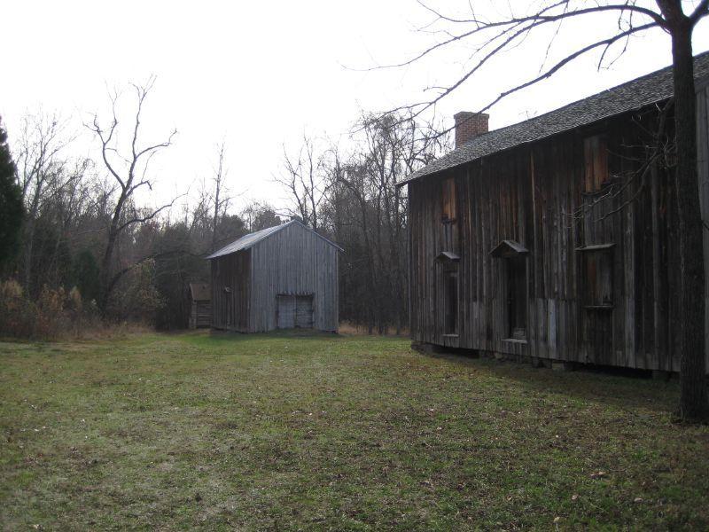 Stagville slave quarters
