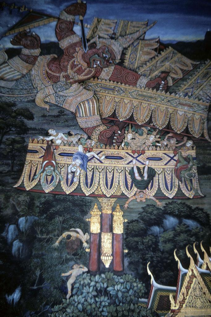 """<img typeof=""""foaf:Image"""" src=""""http://statelibrarync.org/learnnc/sites/default/files/images/thai_rama_144.jpg"""" width=""""683"""" height=""""1024"""" alt=""""Sugriva attacks demons hiding in giant gilt umbrella"""" title=""""Sugriva attacks demons hiding in giant gilt umbrella"""" />"""