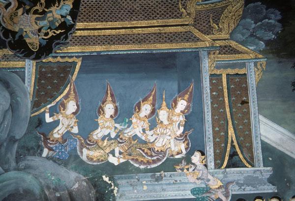 "<img typeof=""foaf:Image"" src=""http://statelibrarync.org/learnnc/sites/default/files/images/thai_rama_194.jpg"" width=""600"" height=""409"" alt=""Four goddesses attend Sita as she gives birth"" title=""Four goddesses attend Sita as she gives birth"" />"