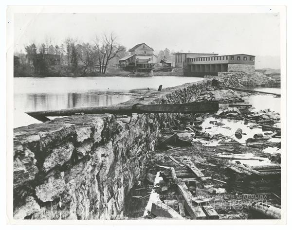 Idol's Dam and Power Plant on the Yadkin River