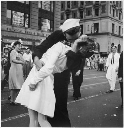 The Kiss - V-J Day