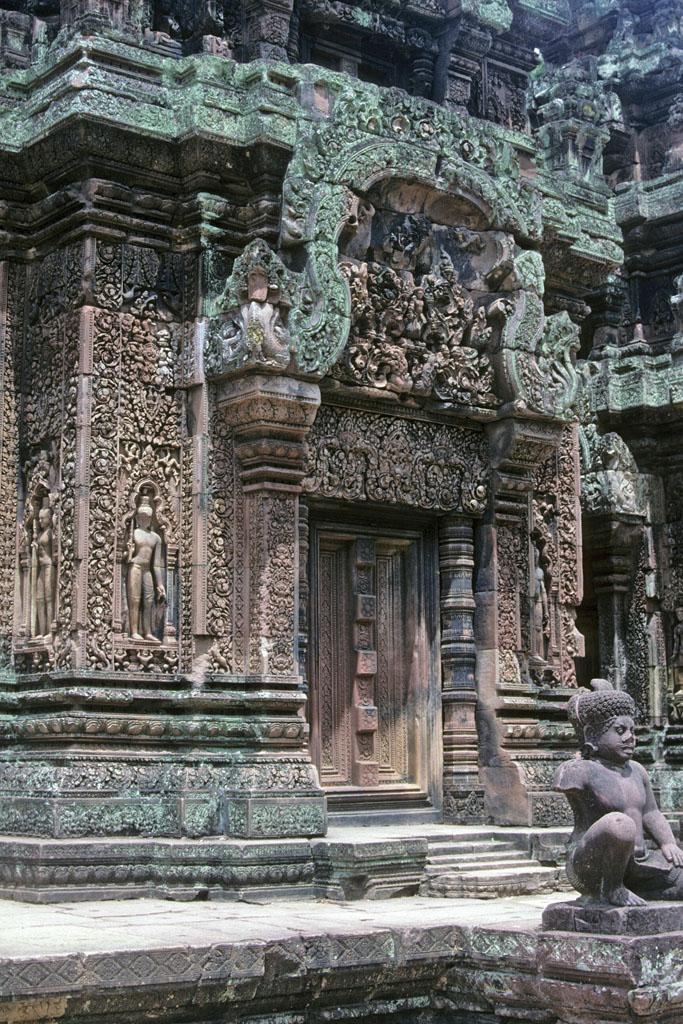 """<img typeof=""""foaf:Image"""" src=""""http://statelibrarync.org/learnnc/sites/default/files/images/vietnam_204.jpg"""" width=""""683"""" height=""""1024"""" alt=""""Ornately carved central tower entrance at Banteay Srei Temple"""" title=""""Ornately carved central tower entrance at Banteay Srei Temple"""" />"""