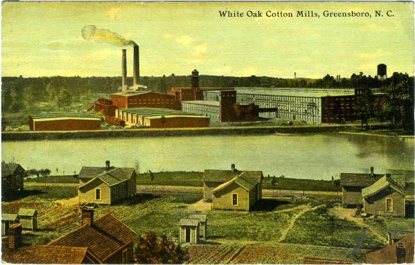 White Oak Cotton Mills (postcard)