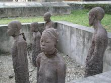Slave trade memorial at Zanzibar