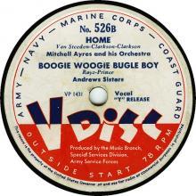 Boogie Woogie Bugle Boy (V-Disc)