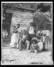 Family on Smith's Plantation