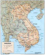 Map of Indochina