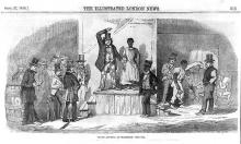 Slave auction at Richmond, Virginia