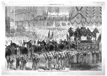 President Lincoln's funeral procession in New York City