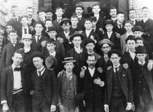 First freshman class at North Carolina State University, 1889