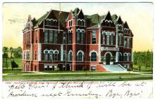 Student's Building, State Normal & Industrial College (postcard)