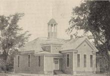 Snow Hill, Greene County School House