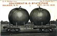 Postcard from the 1912 North Carolina State Fair