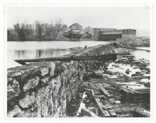 Idol's Dam and Power Plant on the Yadkin River