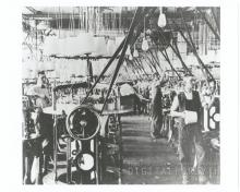 Inside the first Hanes Knitting factory