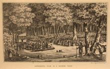 Sacramental Scene in a Western Forest