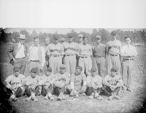Baseball team from Dunn, NC 1930s