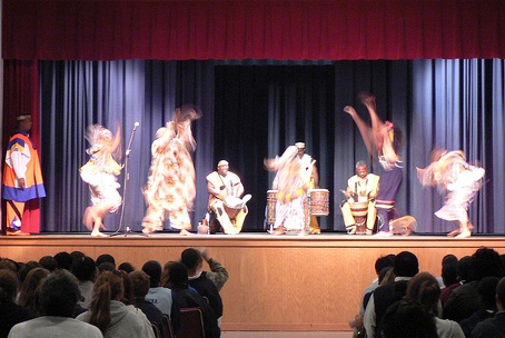 The African American Dance Ensemble at the Jones County Civic Center, on April 22, 2008. Image from Flickr user crowdive.