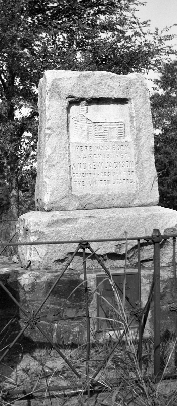Photograph of a monument erected by the North Carolina Daughters of the American Revolution in 1910. Image courtesy of the State Archives of North Carolina.