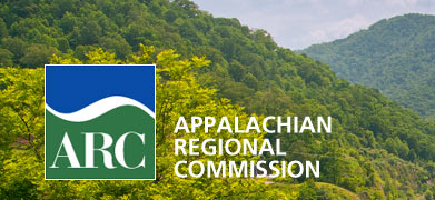 Logo of the Appalachian Regional Commission. Image from the Appalachian Regional Commission website.