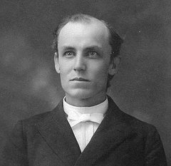 Trinity College president John Carlisle Kilgo. Image from Flickr user Duke Yearlook/Duke University Archives.