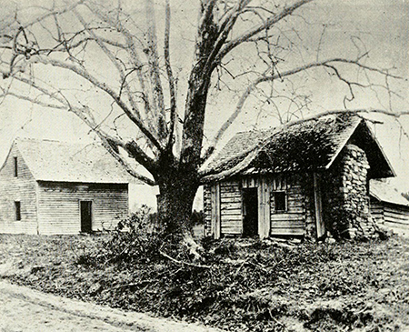 A photograph of Bennett Place from the 1900s. Image from the North Carolina Digital Collections.
