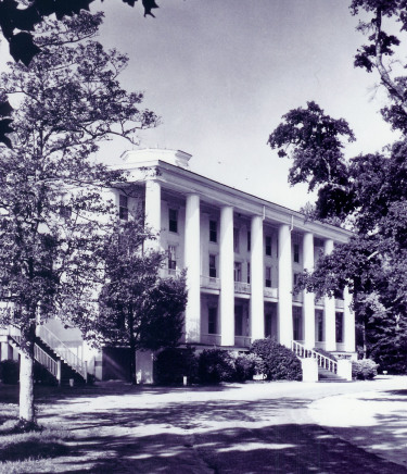 McDowell Columns (1969), Chowan University. Image courtesy of Council of Independent Colleges