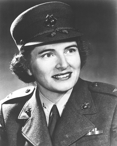 Colonel Julia E. Hamblet, Director of the Marine Corps Women's Reserve from 1946 to 1948 and 1953 to 1959.